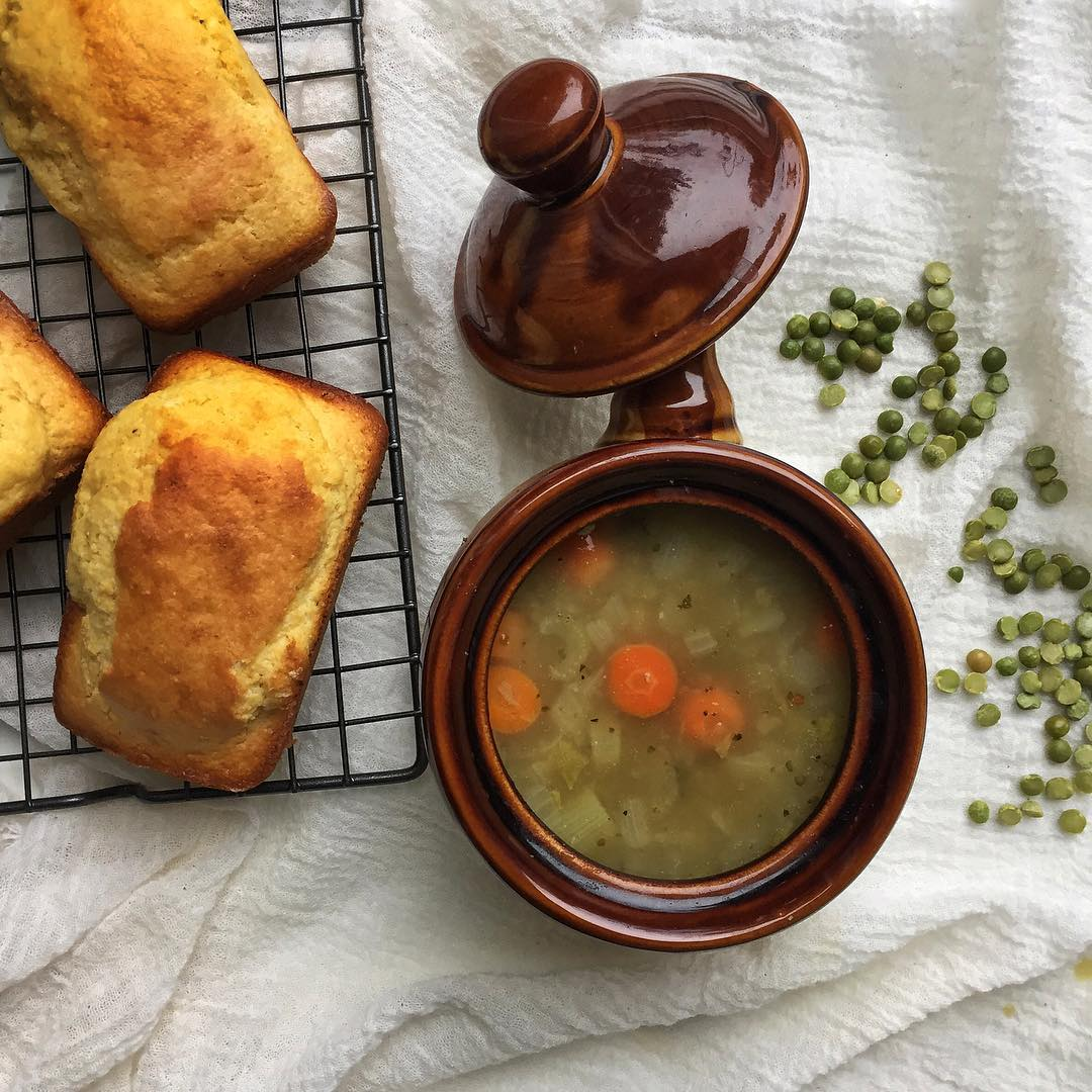 Falling for some pea soup tonight